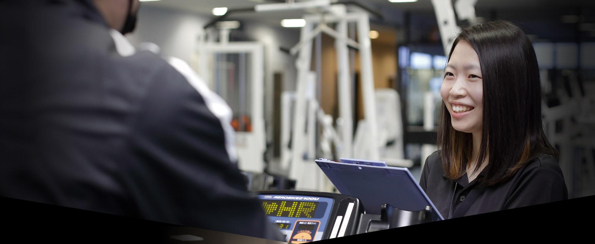 スポーツ健康学科<br /> スポーツインストラクターコース